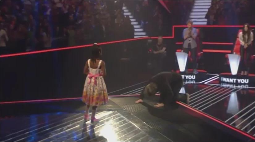 Девочки  6 лет. Почему судьи упали перед ней на колени?