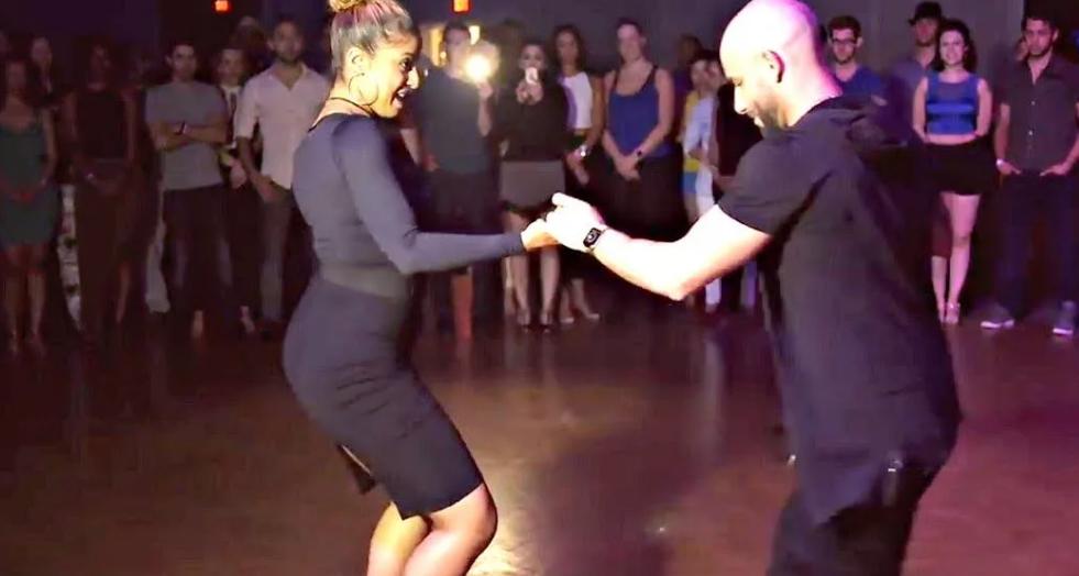 Шедевральный танец от Хорхе Бургоса и Тани Кенсинджер взорвал Сеть